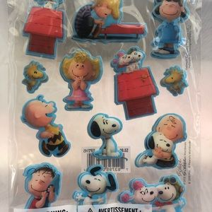 Snoopy puffy stickers